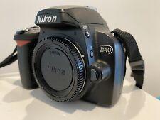 Nikon D40 6.1MP Digital SLR Camera - Black (Body Only)