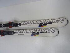 Ski Carvingski Salomon 24 Speed mit Bindung, 158cm (EE1107)