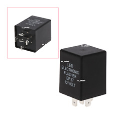 12V 5Pin EP27 LED Flasher Relay Car Turn Signal Indicator Blinker Flash Black