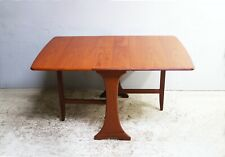 1960's mid century G Plan drop leaf dining table