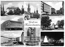 AK, Kaiserslautern, acht Abb., um 1958