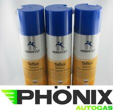 3x Normfest Teflux 400ml Keramik ÖL Spray Multispray Schmieröl Kriechöl