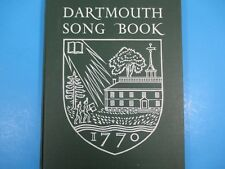1950 Dartmouth Song Book W Song History/Meaning 87 Pages Paul R. Zeller NH
