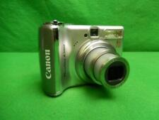 Canon PowerShot A560 7.1MP Digital Camera - Silver Tested and Working