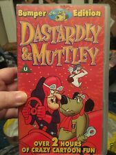 Dastardly And Muttley Bumper Edition Vhs Video Over 2 Hours Double Video