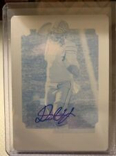 🔥2019 Score DWAYNE HASKINS Printing Plate RC Auto 1/1! clean auto/card🔥