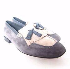 Salvatore Ferragamo Suede Loafers Casual Shoes for Men