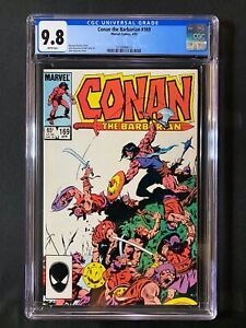 Conan the Barbarian #169 CGC 9.8 (1985)