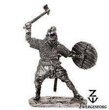 "Tin Toy SOLDIER 54mm VIKING Warrior & NORSE Axe RAIDER 1/32"" Metal Tin Figure"