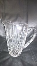Gorham Star Blossom Crystal Water Pitcher
