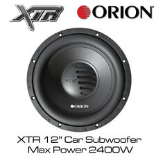 "Orion XTR 124D - 12"" Car Subwoofer Dual 4 Ohm Max Power 2400W Bass Subwoofer"