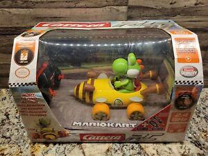 2020 Nintendo Carrera RC: Mario Kart Yoshi Bumble V (2.4 GHz, Radio Remote Car)