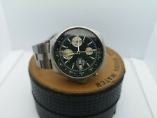 Vintage Watch Breil Manta Chronograph Military Automatic 7750