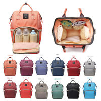 LEQUEEN Mummy Maternity Nappy Bags Backpack Nursing Bag Pack Travel Useful Tools