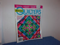 """QUILTERS NEWSLETTER MAGAZINE"""" ART-CRAFT-COMMUNITY  APRIL / MAY ,2011"""
