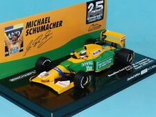 Minichamps 1/43 Benetton ford B192 Michael Schumacher 1st F1 Race Win 1992 MiB