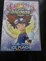 Digimon: Digital Monsters Sub-Zero Ice Punch 2 DVD set - 12 unreleased episodes