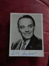 RAY MARTIN - BAND LEADER  - AUTOGRAPHED PHOTO