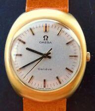 Mechanische Armbanduhren (Handaufzug) mit Gelbgold OMEGA