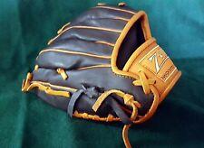 "Baseball Glove (185) (Giants) Z-TX 11½"" Black & Orange Fine Leather"