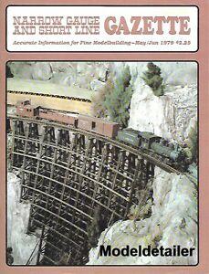 Narrow Gauge Gazette V5 N2 D&RG D&RGW Tonopah Sawmill Porters Logging Mallets