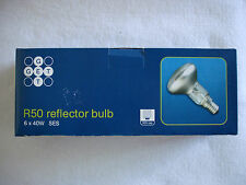 R50 40 W Spot Lamp. Réflecteur Bulbs x5+1 (Quality Branded) e14 ses Screw Fitting