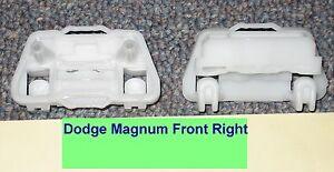 Dodge Magnum Window Regulator Repair Clips PAIR - Front Right (passenger) USA