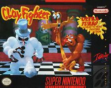 Clay Fighter SNES  (Super Nintendo, 1992)