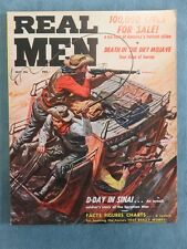 Real Men Men's Pulp/Adventure Magazine May 1957