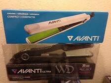 Avanti Nano-Titanium Ceramic Digital Flat Iron WD-CROC + FREE Compact Iron