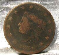 1820 CORONET MATRON HEAD LARGE CENT
