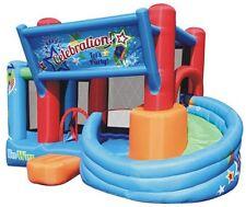 Commercial Grade Inflatable Bounce House Castle Jump Bouncer Slide Blower