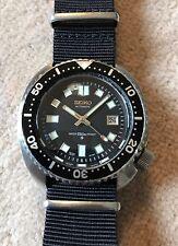 Seiko Vintage 6309-7040 Turtle Diver, 6105 Mod, Dagaz Sapphire, Strapcode Oyster