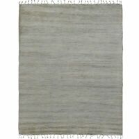 Trellis Modern Moroccan Shaggy Hand-Knotted Area Rug Oriental Plush Carpet 6x9
