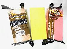 3pcs Multi Purpose Jumbo Sponge Super Absorbent Car Van Bike Wash Cleaning