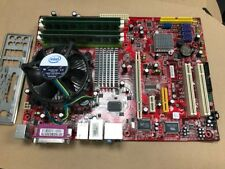 MSI MS-7235 Ver 2.1 P965 Neo2 Motherboard Skt 775 Core 2 Quad CPU 2.4GHz Combo