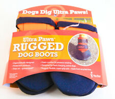 Ultra Paws Ultra Rugged Dog Boots Winter Covers Booties Size X-Large Orange NEW