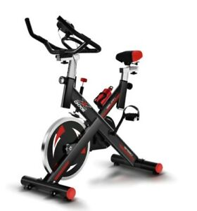 Professional Indoor Cycling Exercise Bike Cycle Home Cardio Adjustable Fitness