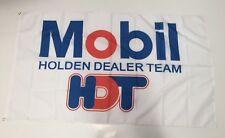 Mobil Holden Dealer Team - Banner Flag Car Commodore Mechanic Workshop Man Cave