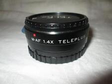 Kenko TELEPLUS Minolta AF Fit M-AF 2x moltiplicatore di focale + Tappi