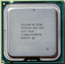 CPU / Processeur Intel Pentium Dual-Core E5200 SLAY7 - Socket LGA775 - 2.5 Ghz