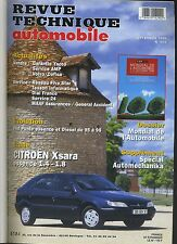 (C6)REVUE TECHNIQUE AUTOMOBILE CITROEN XSARA / FIAT PUNTO