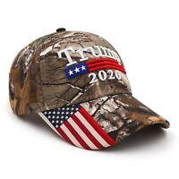 Trump 2020 MAGA Camo Embroidered Hat Keep Make America Great Again Cap USA /MA