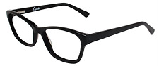 Rembrand Lipstick eyeglasses Lipstick Quirky in Black Size 53/17/135