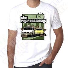 Triumph Dolomite Sprint Rover Sd1 The Professionals 100% Cotton retro T-shirt