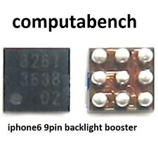 U1503 9pin Backlight IC para el iPhone 6 totalmente nuevo post rápido