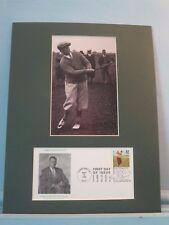 Honoring Amateur Golfer Great Bobby Jones - Grand Slam Winner & First Day Cover