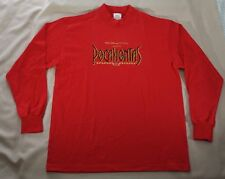 Pocahontas Xl Tshirt Walt Disney Pictures Promotional Products Red Long Sleeve