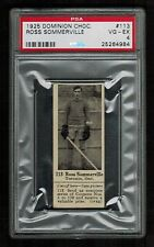 PSA 4 ROSS SOMMERVILLE Dominion Chocolate Hockey Card #113