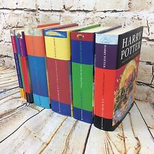 Full Set Of 7 Harry Potter Books Hardback & Paperback Collection JK Rowling